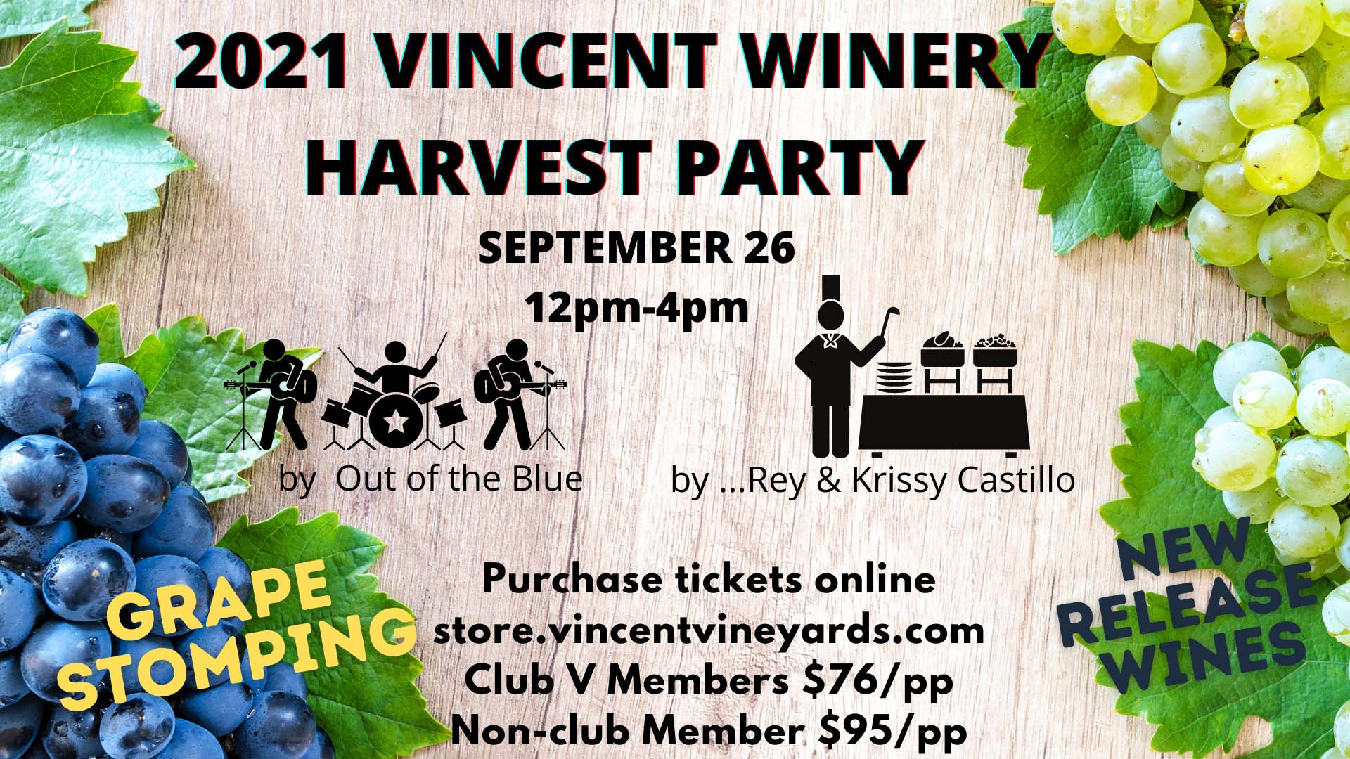 2021 Harvest Party Flyer